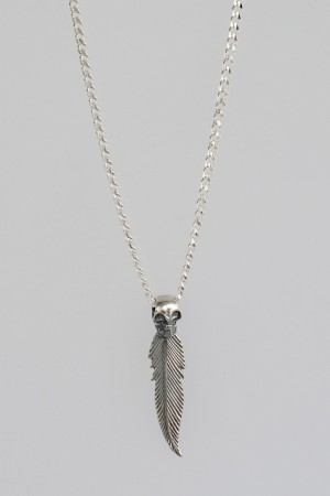 Feather skul chain