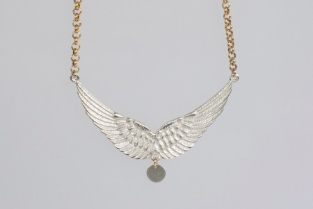Dobbel wing necklace
